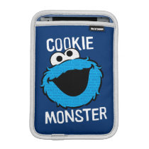 Cookie Monster Pattern Face Sleeve For iPad Mini