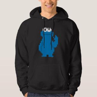 Cookie Monster Pixel Art Hoodie