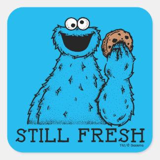 Cookie Monster   Still Fresh Square Sticker