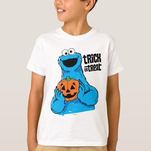 Cookie Monster _ Trick Or Treat T_Shirt