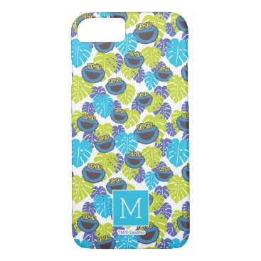 Cookie Monster | Tropical Pattern iPhone 8/7 Case