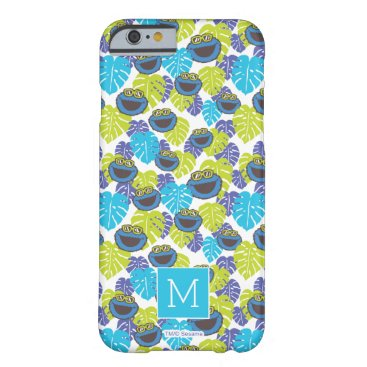 Cookie Monster | Tropical Pattern Barely There iPhone 6 Case