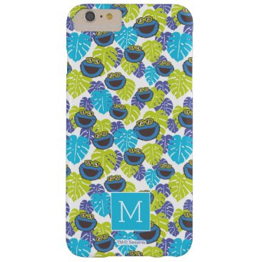 Cookie Monster | Tropical Pattern Barely There iPhone 6 Plus Case