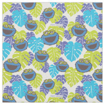 Cookie Monster | Tropical Pattern Fabric