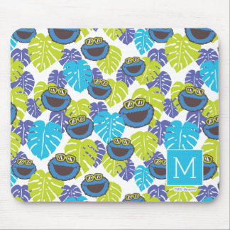 Cookie Monster | Tropical Pattern Mouse Pad