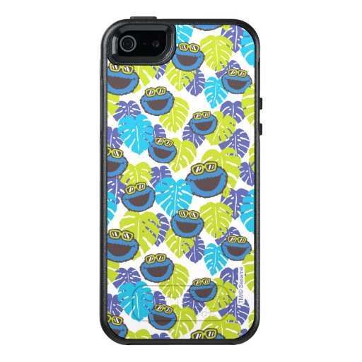 Cookie Monster | Tropical Pattern OtterBox iPhone 5/5s/SE Case