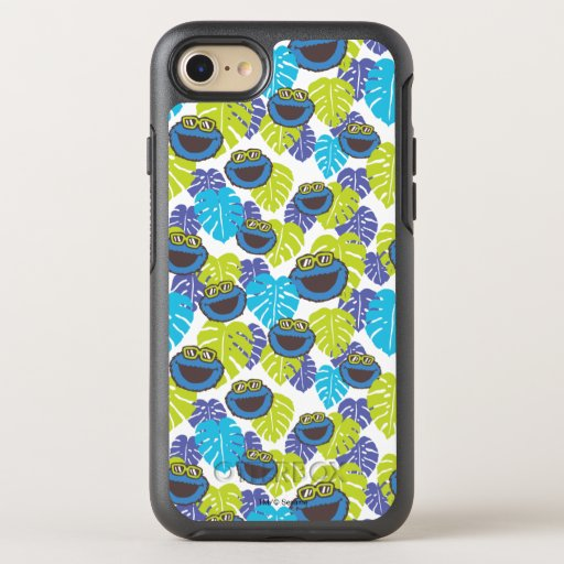 Cookie Monster | Tropical Pattern OtterBox Symmetry iPhone SE/8/7 Case
