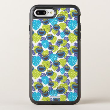 Cookie Monster | Tropical Pattern OtterBox Symmetry iPhone 8 Plus/7 Plus Case