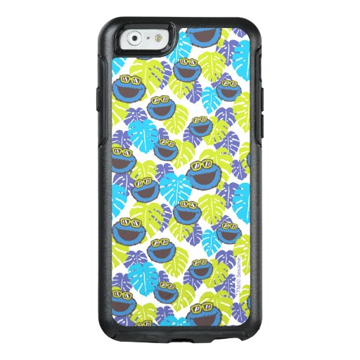 Cookie Monster | Tropical Pattern OtterBox iPhone 6/6s Case