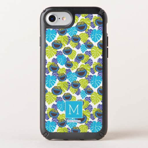 Cookie Monster | Tropical Pattern Speck iPhone Case