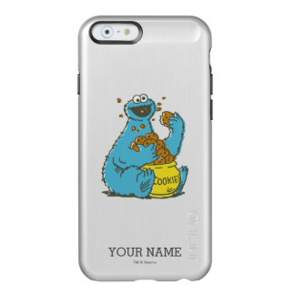 Cookie Monster Vintage | Add Your Name Incipio Feather Shine iPhone 6 Case