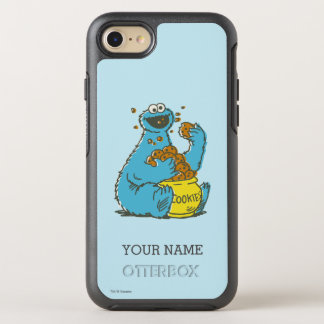 Cookie Monster Vintage | Add Your Name OtterBox Symmetry iPhone 8/7 Case
