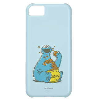 Cookie Monster Vintage Case For iPhone 5C