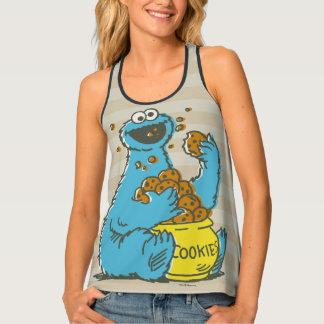 Cookie Monster Vintage Tank Top