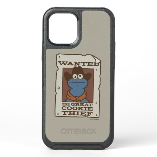Cookie Monster | Wanted Poster OtterBox Symmetry iPhone 12 Case