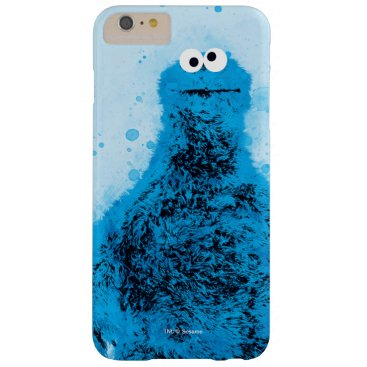 Cookie Monster | Watercolor Trend Barely There iPhone 6 Plus Case