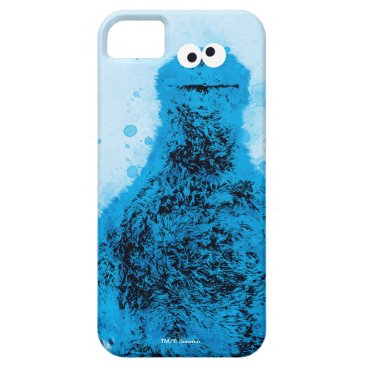 Cookie Monster | Watercolor Trend iPhone SE/5/5s Case