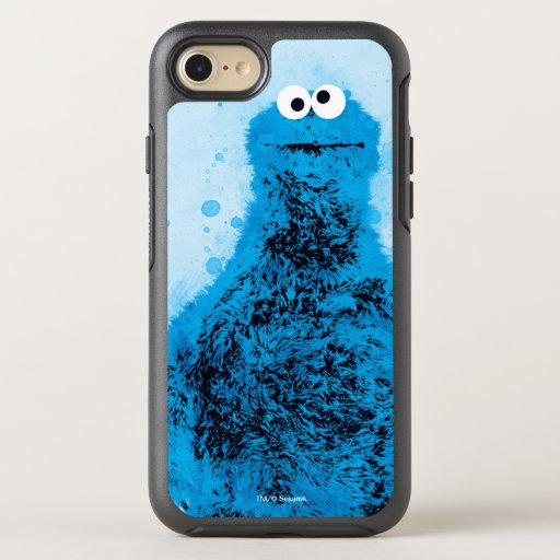 Cookie Monster | Watercolor Trend OtterBox Symmetry iPhone 8/7 Case