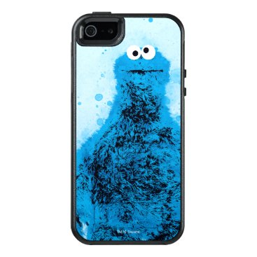 Cookie Monster | Watercolor Trend OtterBox iPhone 5/5s/SE Case