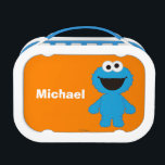 """Cookie Monster Wool Style   Add Your Name Lunch Box<br><div class=""""desc"""">Check out this fluffy baby Cookie Monster!        This item is recommended for ages 2 . �  2014 Sesame Workshop. www.sesamestreet.org</div>"""