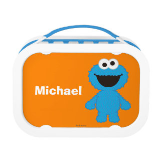 Cookie Monster Wool Style | Add Your Name Lunch Box at Zazzle