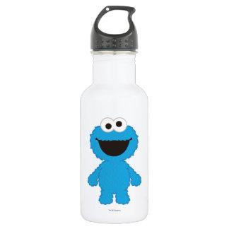 Cookie Monster Wool Style Water Bottle
