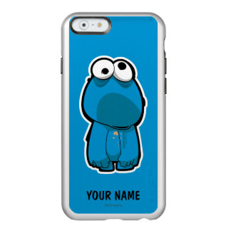 Cookie Monster Zombie | Add Your Name Incipio Feather Shine iPhone 6 Case