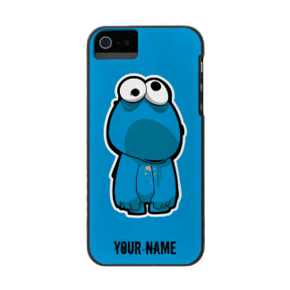 Cookie Monster Zombie | Add Your Name Wallet Case For iPhone SE/5/5s