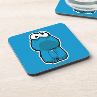 Cookie Monster Zombie Drink Coaster