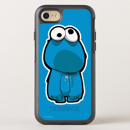 Cookie Monster Zombie OtterBox Symmetry iPhone SE/8/7 Case