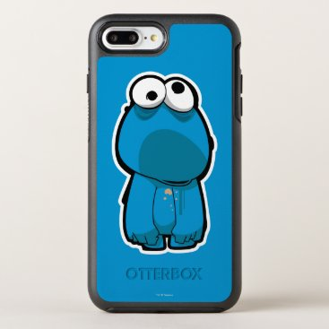 Cookie Monster Zombie OtterBox Symmetry iPhone 8 Plus/7 Plus Case