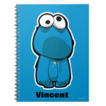 Cookie Monster Zombie Spiral Note Books