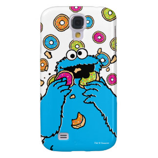 Cookie MonsterDonut Destroyer Galaxy S4 Cover