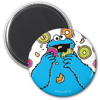 Cookie MonsterDonut Destroyer Magnet