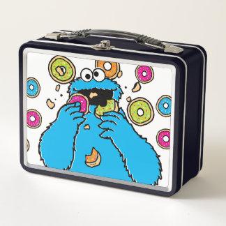 Cookie MonsterDonut Destroyer Metal Lunch Box