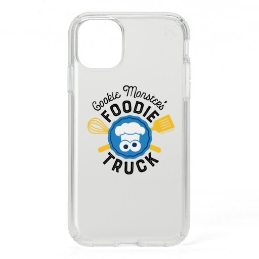Cookie Monster's Foodie Truck Logo Speck iPhone 11 Case
