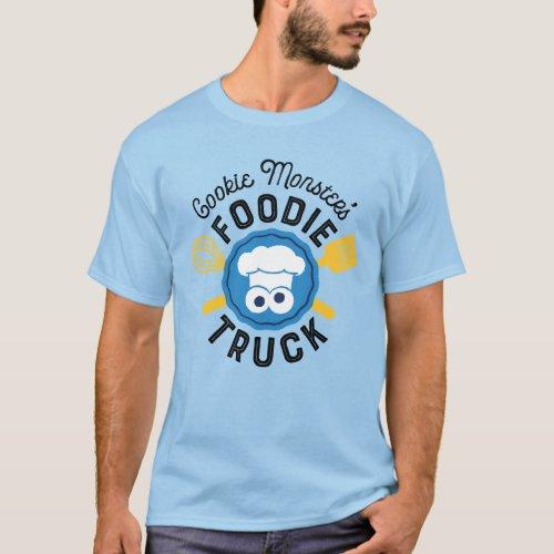 Cookie Monsters Foodie Truck Logo T_Shirt