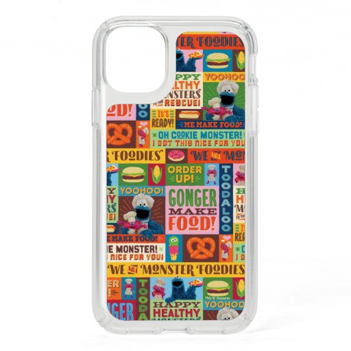 Cookie Monster's Foodie Truck Pattern Speck iPhone 11 Case