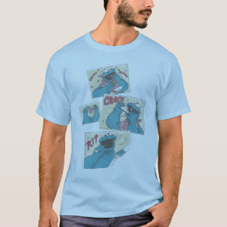 Cookie MonsterVintage Comic Panels 2 T-Shirt