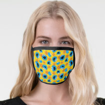 Cookie Monter and Cookies Pattern Face Mask