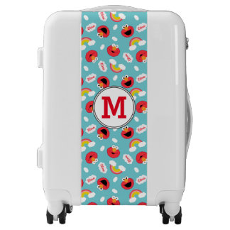 Cookie Monter and Cookies Pattern | Monogram Luggage