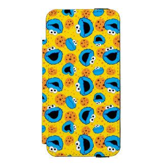 Cookie Monter and Cookies Pattern Incipio Watson™ iPhone 5 Wallet Case