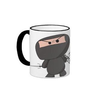 """Cookie"" Mug - A Nawty Ninja Design"