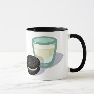 Cookie n Milk in a mug