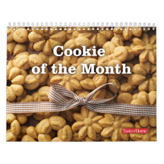 Cookie of the Month Calendar