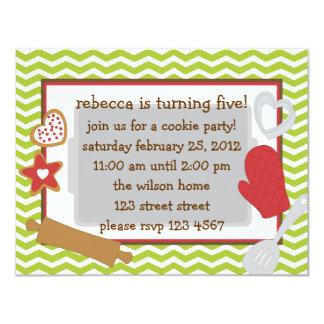 Cookie Party!. Custom Invite