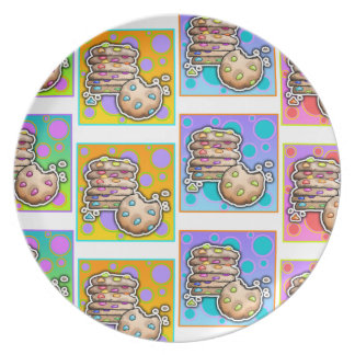 Cookie Pop Art Plate