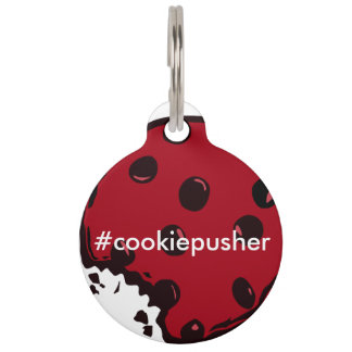 Cookie Pusher Dog Tag