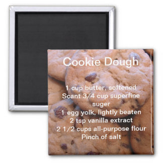 Cookie Recipe Magnet