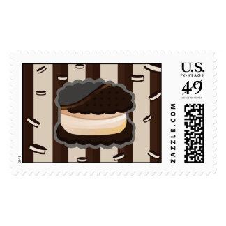 Cookie Sandwich Postage Stamp